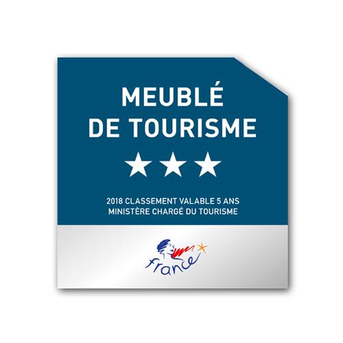 """Résultat de recherche d'images pour """"logo meublé de tourisme 3 étoiles 2018"""""""